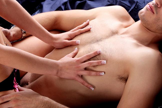 genomträngande massage rumpa till mun