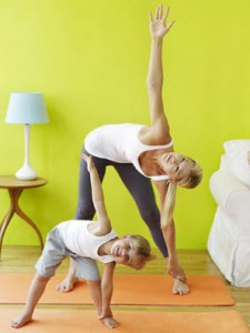 7 Yoga Poses To Do With Your Toddler 3