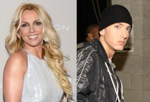 Britney Spears og Eminem.