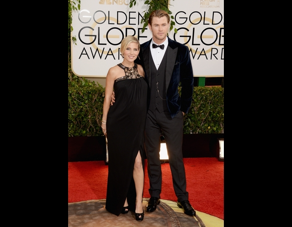 26-Chris Hemsworth and Elsa Pataky