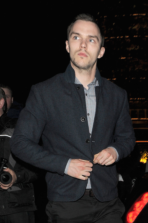 Jennifer Lawrence and boyfriend Nicholas Hoult enjoy an evening out at Firehouse club, before heading back to their hotel