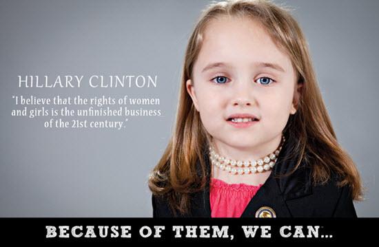 Þegar Hillary Clinton var kosin á bandaríska þingið árið 2001 varð hún fyrsta fyrrum forsetafrú landsins til að gegna embætti. Hún tók við embætti utanríkisráðherra árið 2009 og gengdi því allt til ársins 2013.