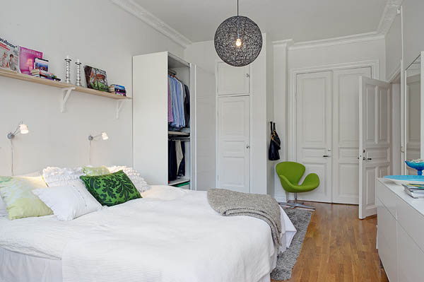 small bedroom apartment 40 Small Bedrooms Ideas To Make Your Home Look Bigger
