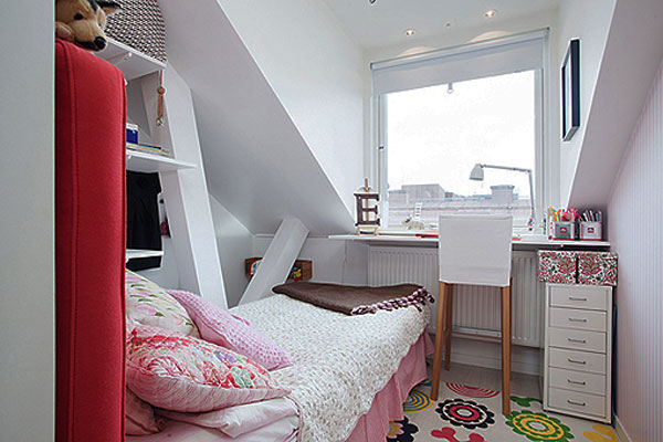 small attic bedroom 40 Small Bedrooms Ideas To Make Your Home Look Bigger
