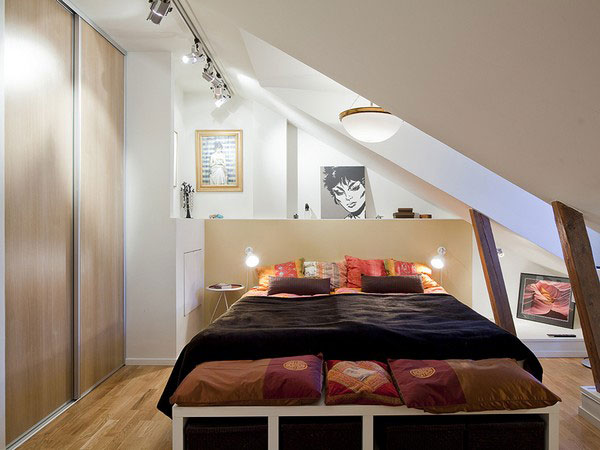 small bedroom attic 40 Small Bedrooms Ideas To Make Your Home Look Bigger