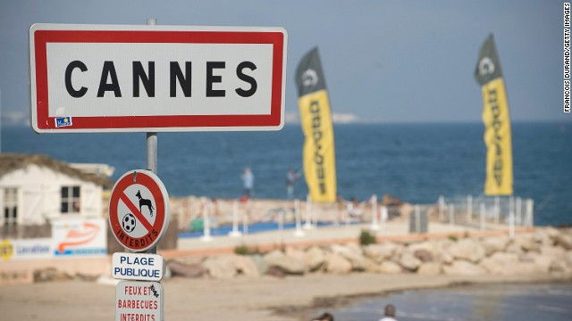> on May 10, 2010 in Cannes, France.