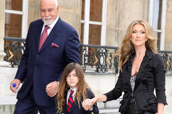 Celine-Dion-Family