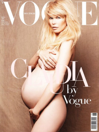 claudia-schiffer-pregnant-nude