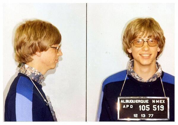 02-Bill-Gates-for-driving-without-a-license-1977