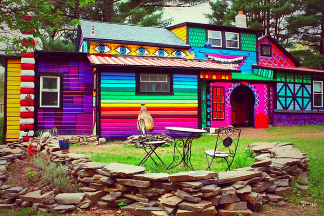 A House That Should Really Be In The Land Of Oz