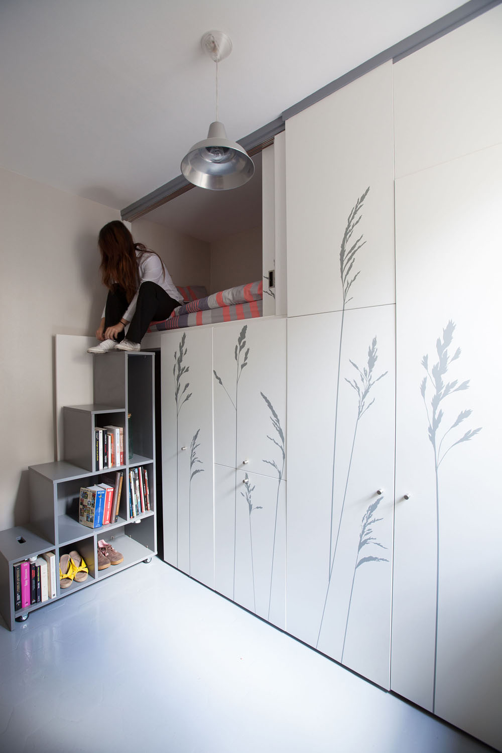 Compact Apartment In Paris by Kitoko Studio 1 Incredibly Small Apartment in Paris Reduces Functions to Minimum