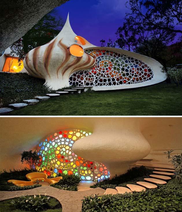Nautilus - Giant Seashell House