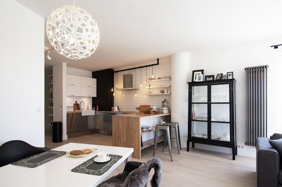 ideas modern home Creative and Welcoming Scandinavian Inspired Apartment in Warsaw, Poland