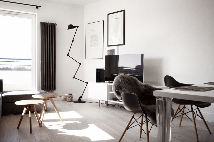 modern home 7 Creative and Welcoming Scandinavian Inspired Apartment in Warsaw, Poland