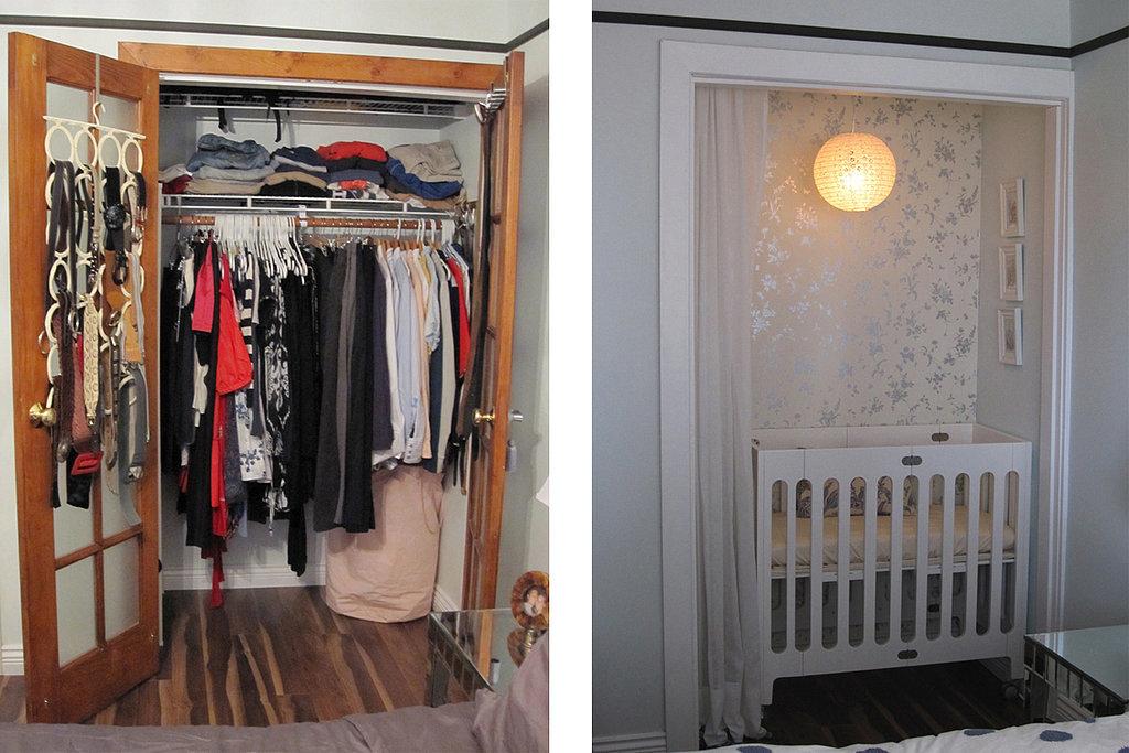 How-Convert-Closet-Baby-Nursery