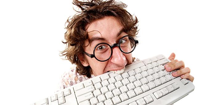 Man-Biting-Keyboard