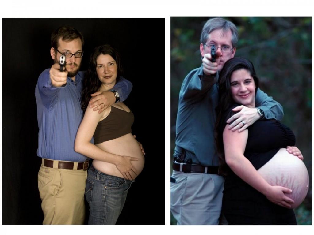 pregnant with gun