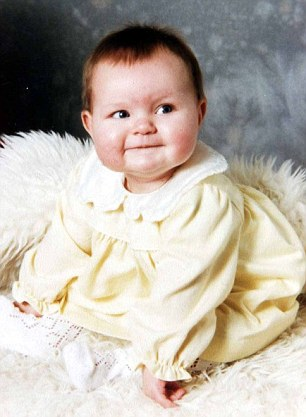 PICTURE, MIKE FLOYD. Carole Horlock surrogacy story. Picture of baby 6. (Girl).