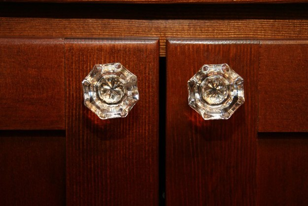 Cabinet knobs.