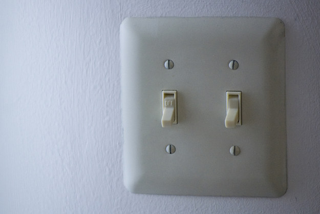 Light switch plates.