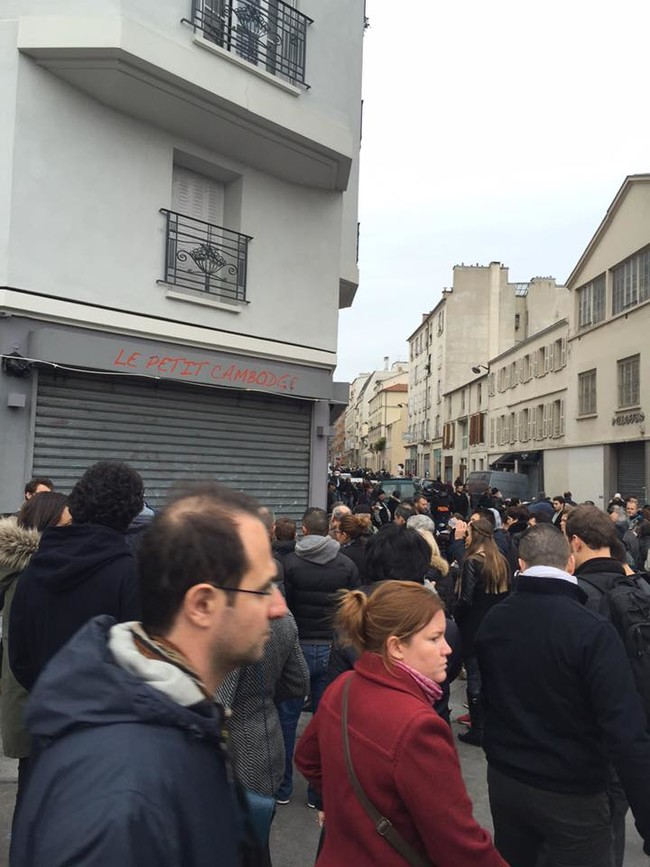 """""""Two minutes from there and you're at Le Petit Cambodge and Le Carillon. Apart from the attack at the Stade de France, these attacks were focused on a small neighborhood, just a few blocks from the Charlie Hebdo offices."""""""