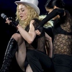 """Madonna in Concert """"Sticky & Sweet Tour"""" at San Siro in Milan – July 14, 2009"""