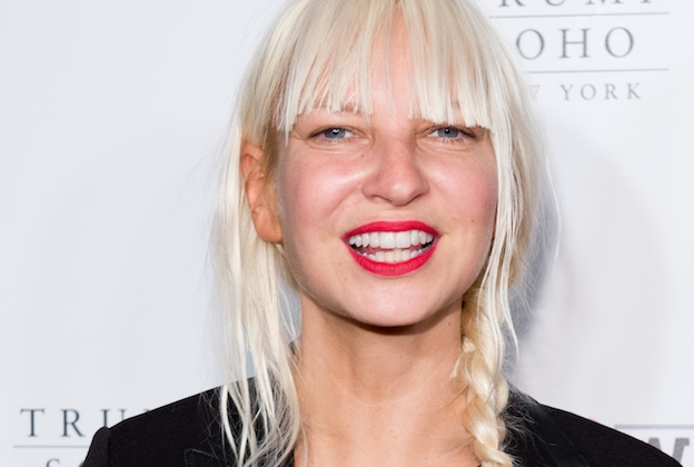 NEW YORK, NY - JUNE 04:  Recording Artist Sia attends the 2014 Wayuu Taya Gala Honoring Kimora Lee Simmons at Trump SoHo on June 4, 2014 in New York City.  (Photo by Noam Galai/WireImage)