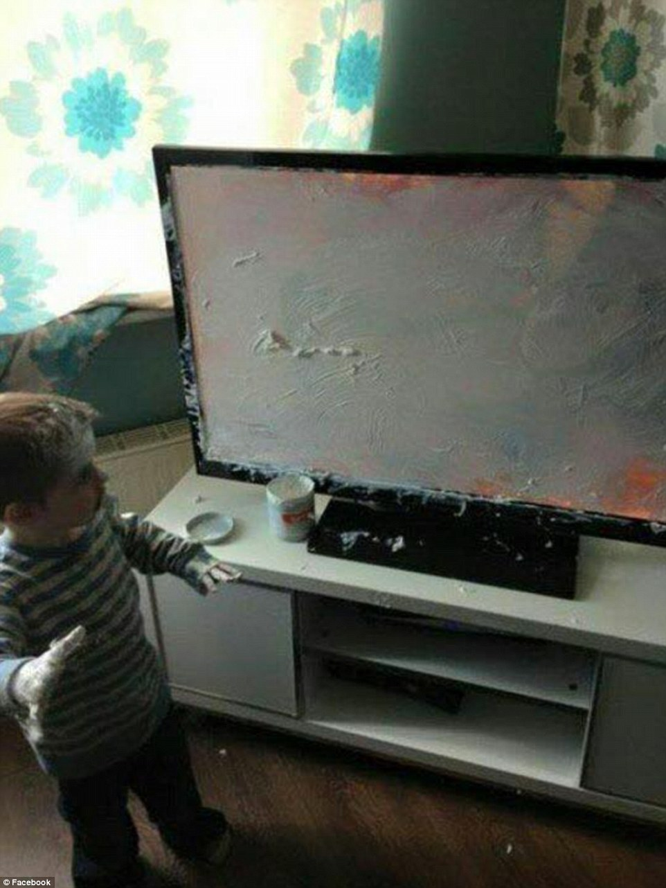 3203444F00000578-3483248-Art_attack_One_young_boy_thought_that_the_TV_would_make_a_good_s-a-45_1457527781667
