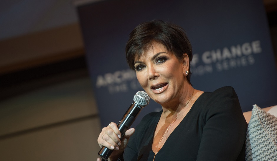 "LOS ANGELES, CA - JANUARY 14:  Kris Jenner attends the ""Architects Of Change: Maria Shriver And Kris Jenner"" conversation at Skirball Cultural Center on January 14, 2016 in Los Angeles, California.  (Photo by Jason Kempin/Getty Images)"