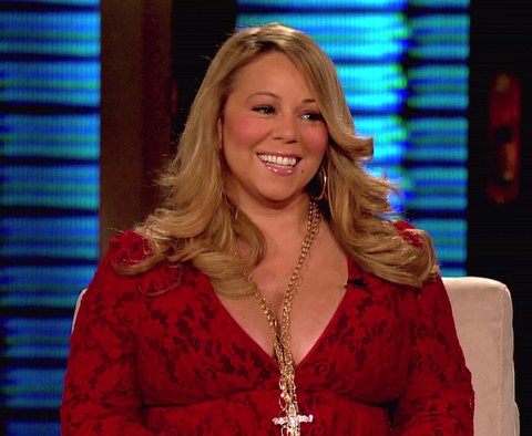 Mariah Carey appears on TBS's 'Lopez Tonight' where she talks about trying to wear flat shoes but has difficulties as she always walks on her toes.  Carey promotes her new christmas album 'Merry Christmas II You'. USA - 02.11.10 Supplied by WENN.com WENN does not claim any ownership including but not limited to Copyright or License in the attached material. Any downloading fees charged by WENN are for WENN's services only, and do not, nor are they intended to, convey to the user any ownership of Copyright or License in the material. By publishing this material you expressly agree to indemnify and to hold WENN and its directors, shareholders and employees harmless from any loss, claims, damages, demands, expenses (including legal fees), or any causes of action or  allegation against WENN arising out of or connected in any way with publication of the material.