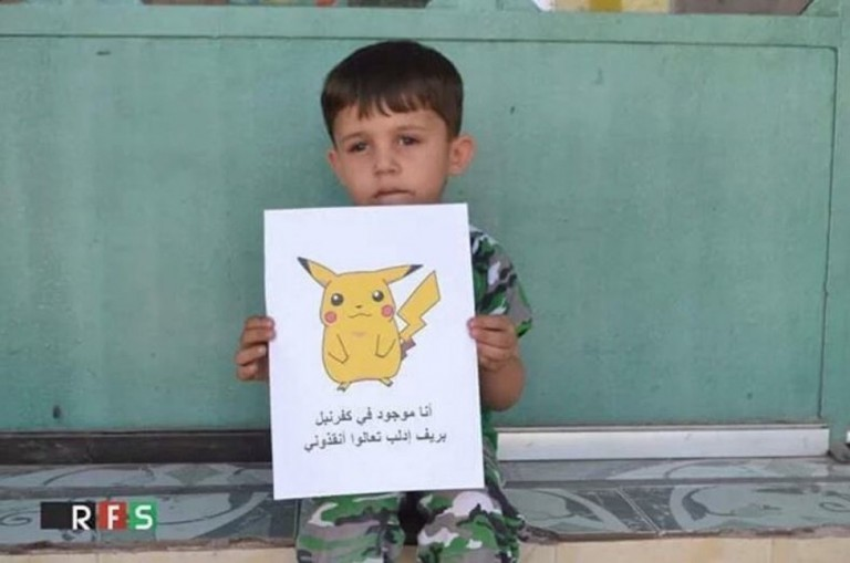 Syrian-Children-Hold-Pokemon-Pictures-so-People-Can-Find-Them-and-Save-Them-4-768x509