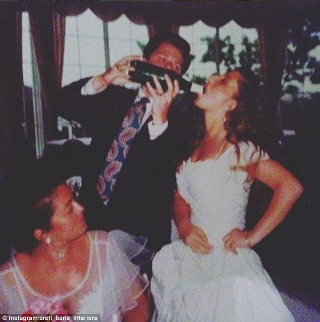 Getting married can be thirsty work and who has time to pour champagne into a glass?
