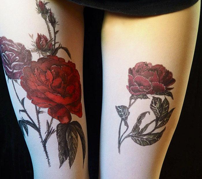 Roses Tights