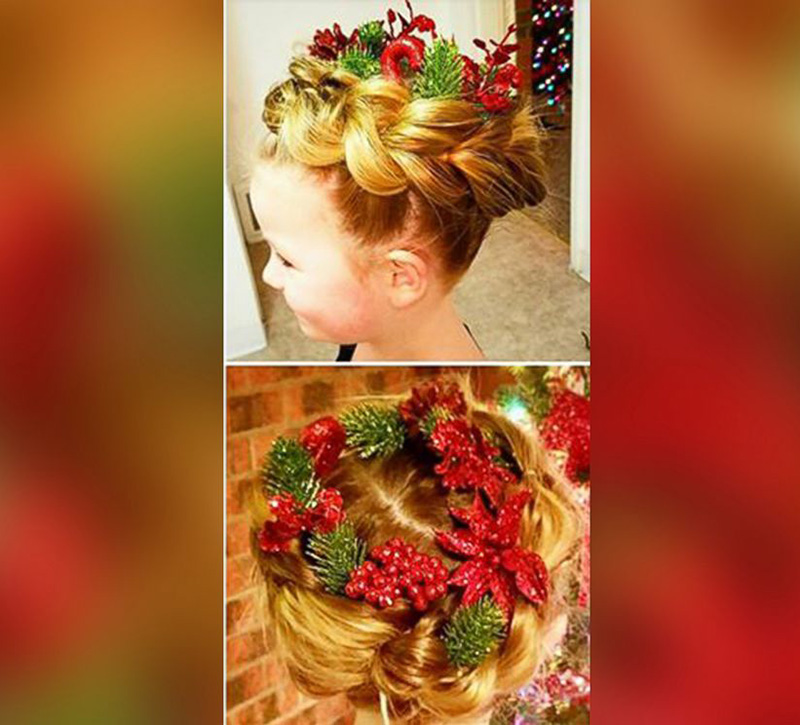 amazing Christmas hair
