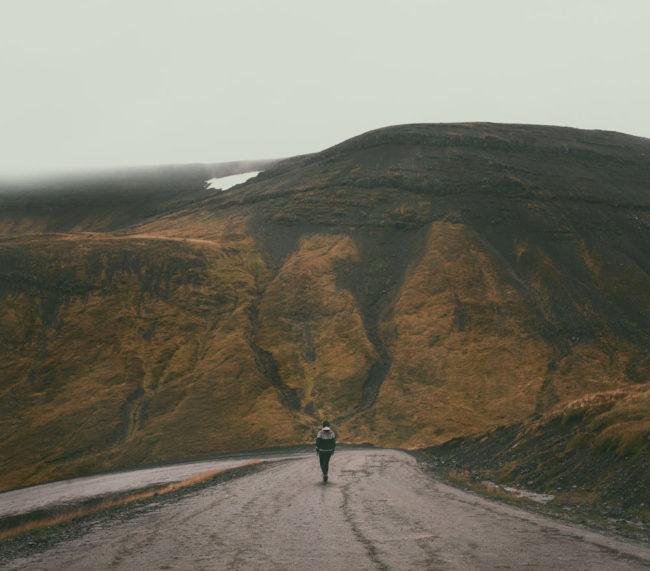 Rain patters lightly | Westfjords
