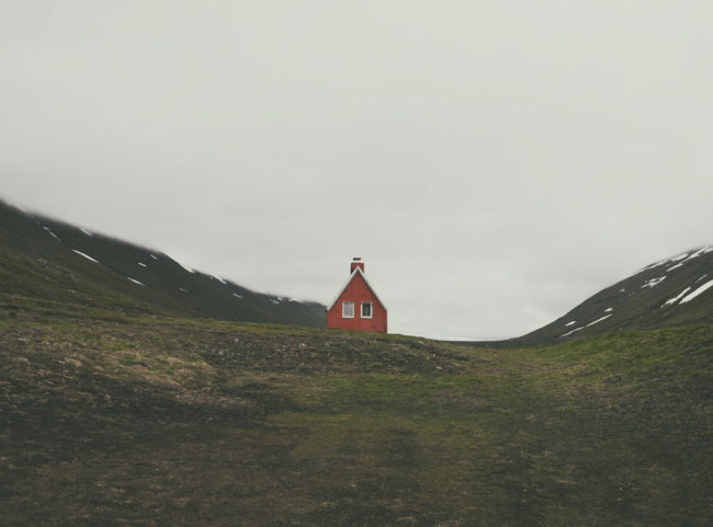 Sometimes you just want to hide somewhere | East Fjords